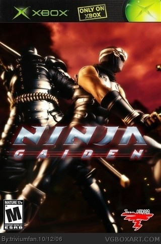 Ninja Gaiden box cover