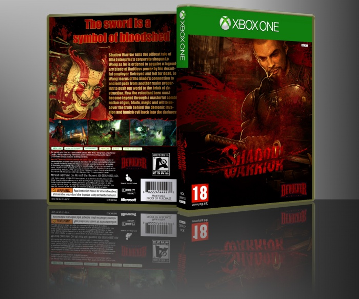 Shadow Warrior box art cover
