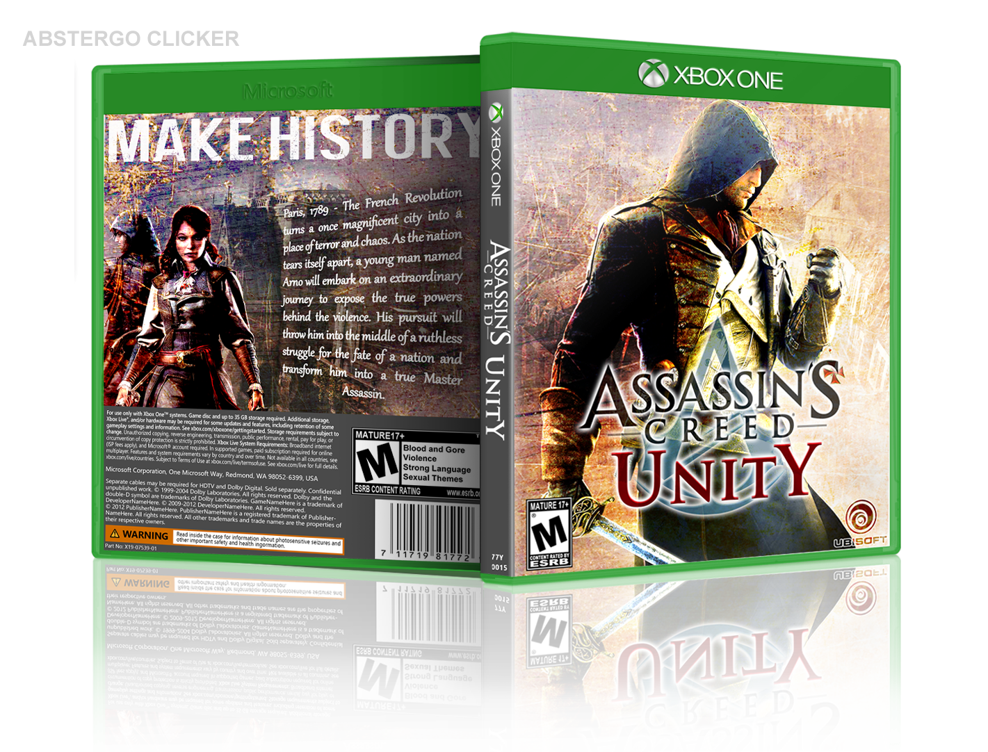 Assassin's Creed Unity box cover