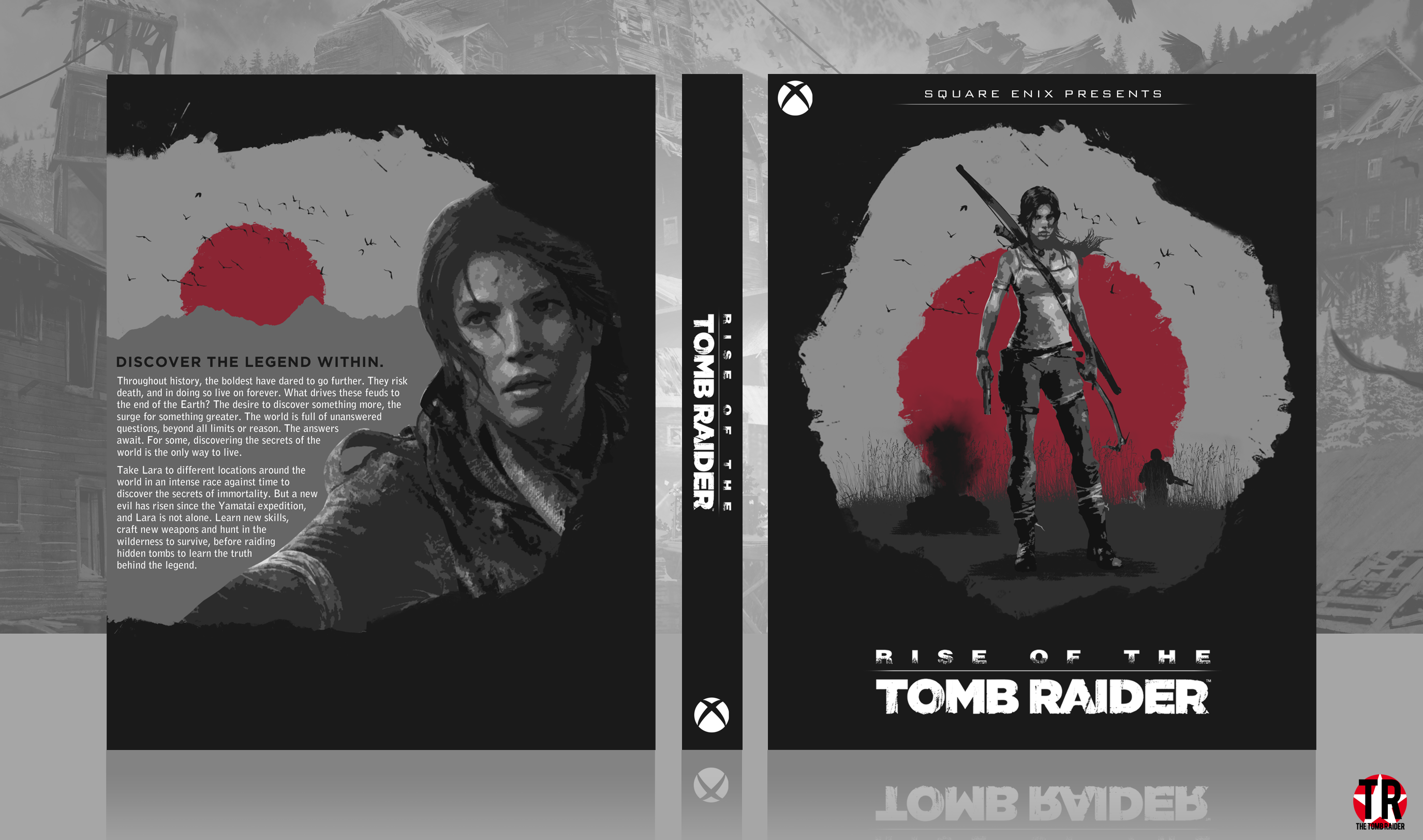 Rise of the Tomb Raider box cover