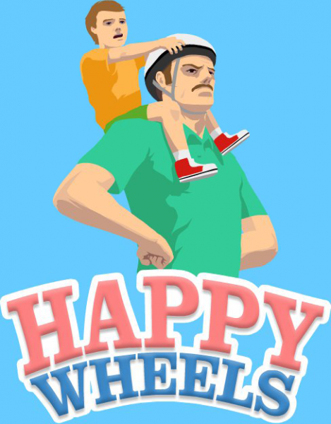 Happy Wheels box cover