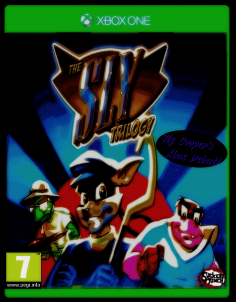 The Sly Trilogy box cover