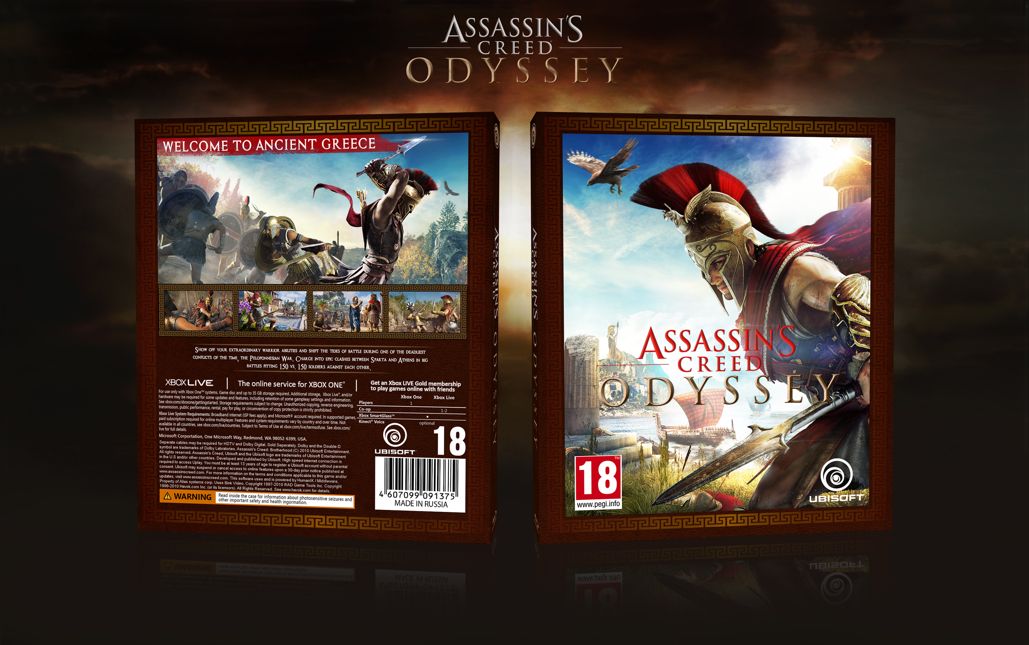 Assassin's Creed: Odyssey box cover