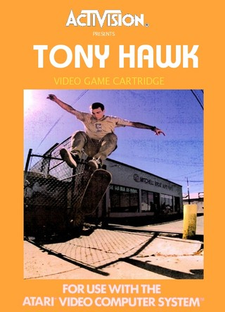 Tony Hawk box cover