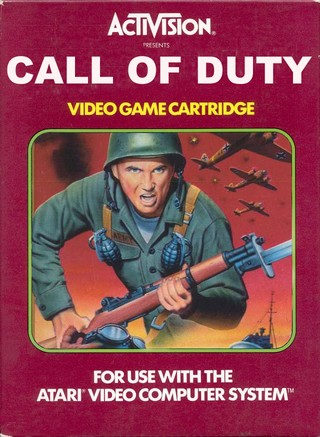 Call of Duty box cover