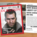 Duration Magazine: GTA IV Box Art Cover