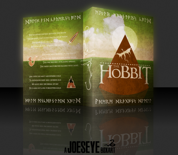 The Hobbit box art cover