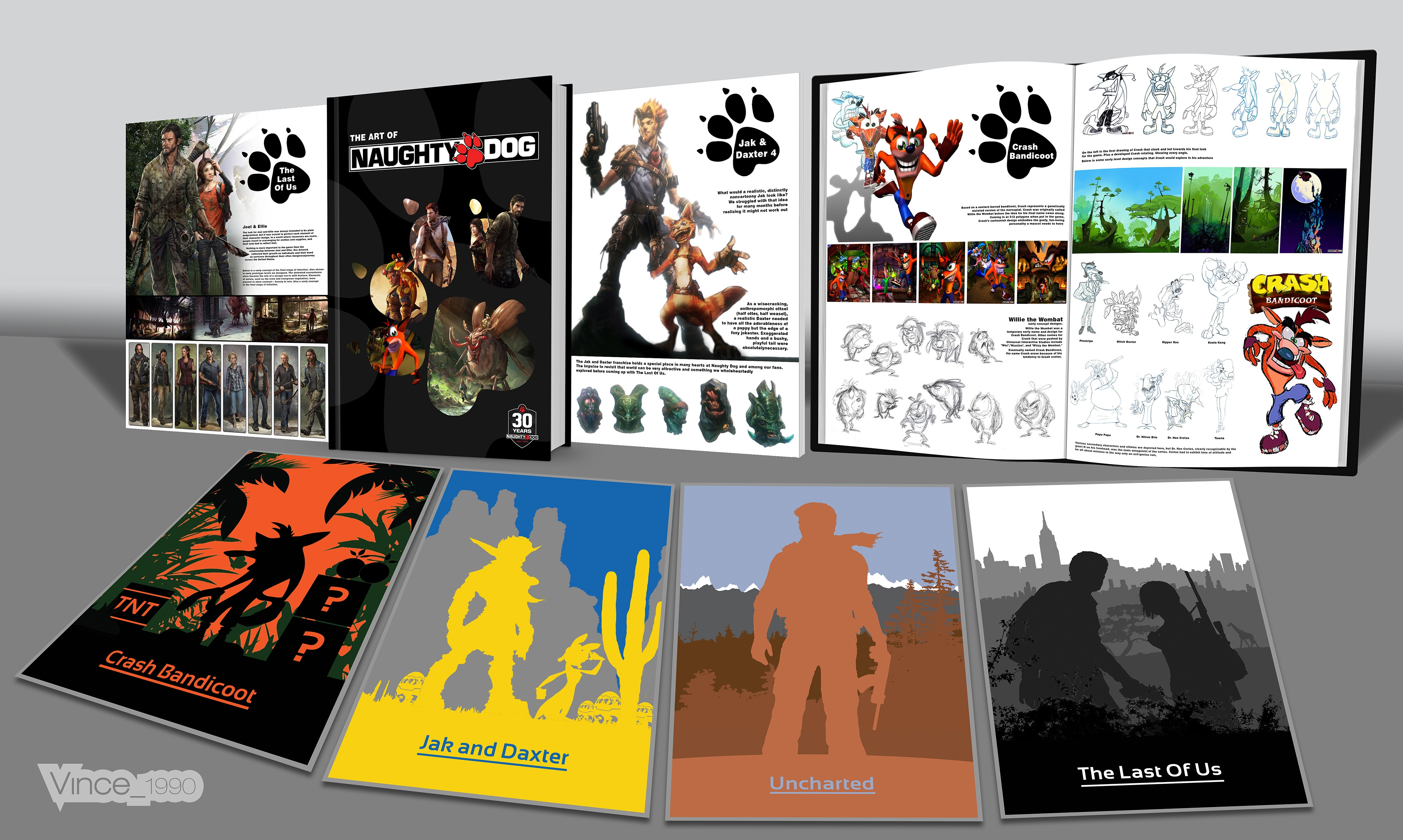 The Art Of Naughty Dog box cover