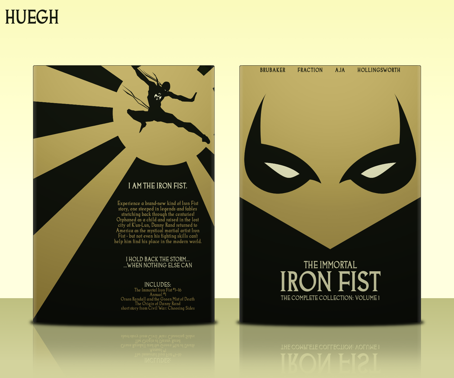 The Immortal Iron Fist: Volume 1 box cover