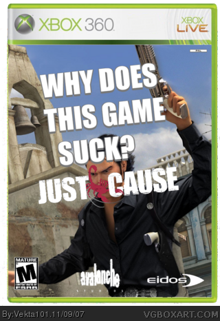 Just Cause box cover