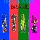 Sonic The Hedgehog Brawl Box Art Cover
