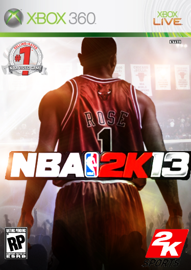 NBA 2k13 box cover