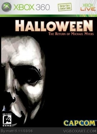 Halloween box cover