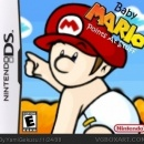 Baby Mario Points at Stuff Box Art Cover