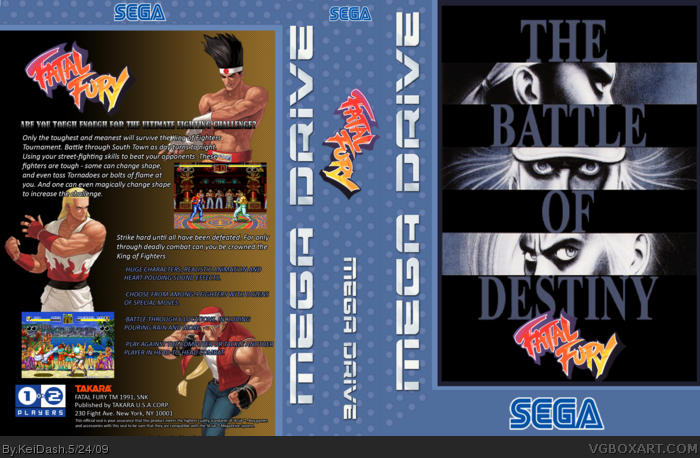 Fatal Fury box art cover