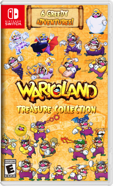 Wario Land Treasure Collection box art cover
