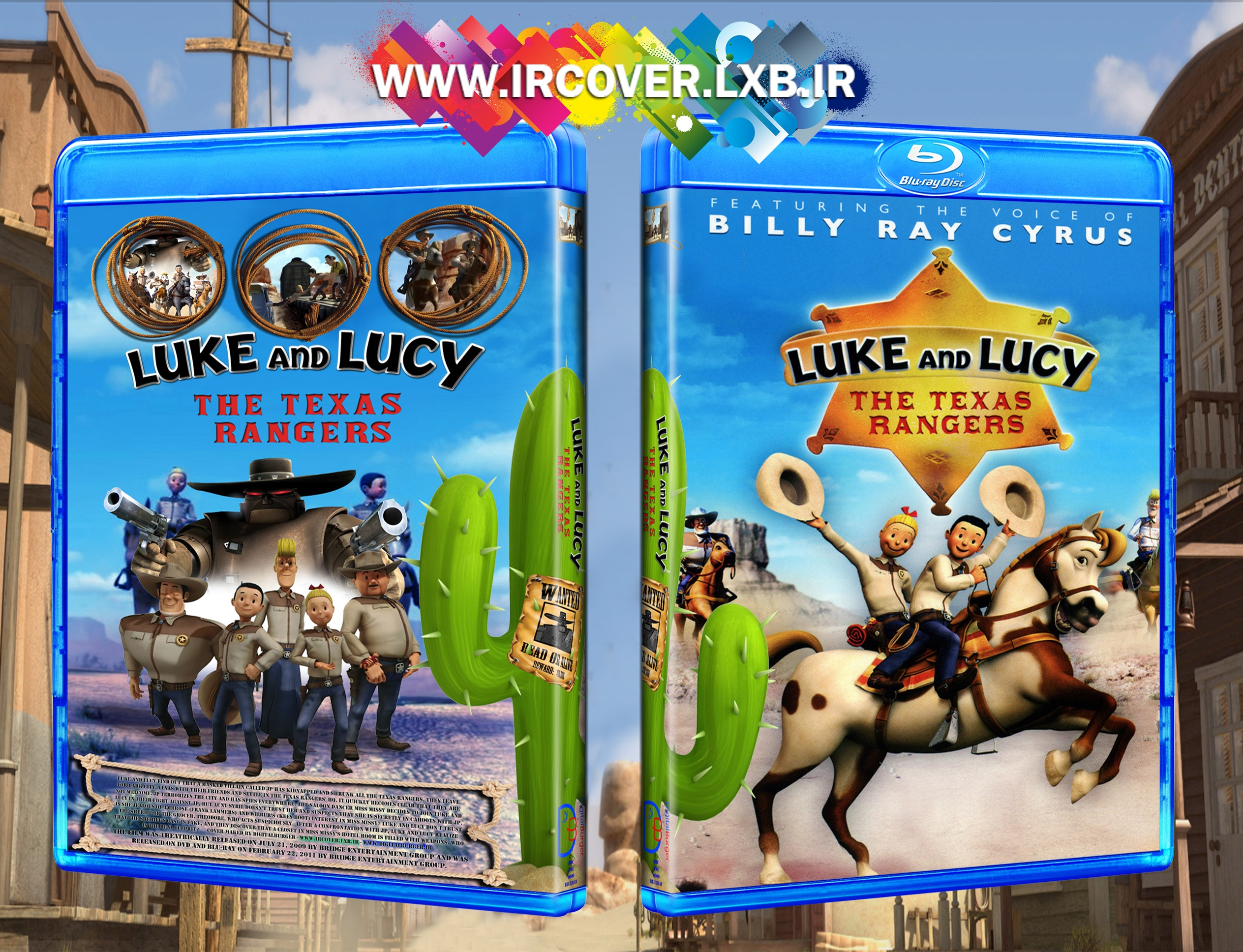 Luke and Lucy The Texas Rangers box cover