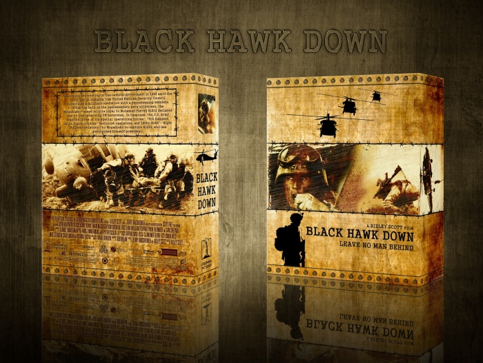 Black Hawk Down box art cover