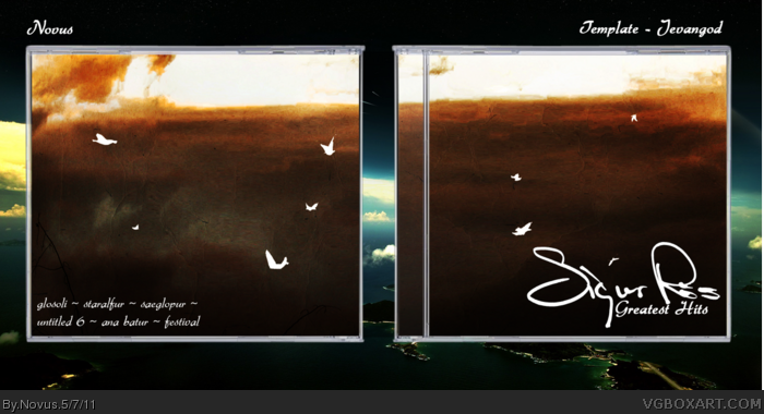 Sigur Ros: Greatest Hits box art cover