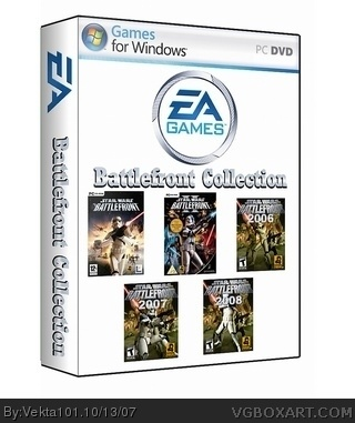 EA's Star Wars Battlefront Collection box cover
