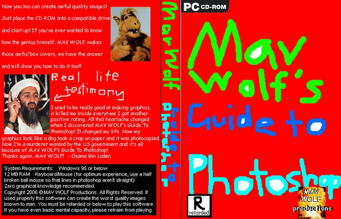 MAV WOLF's Guide to Photoshop box art cover