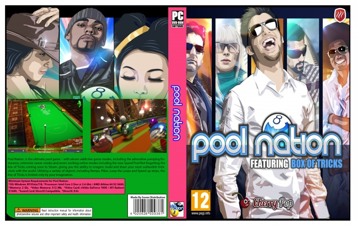 Pool Nation box art cover