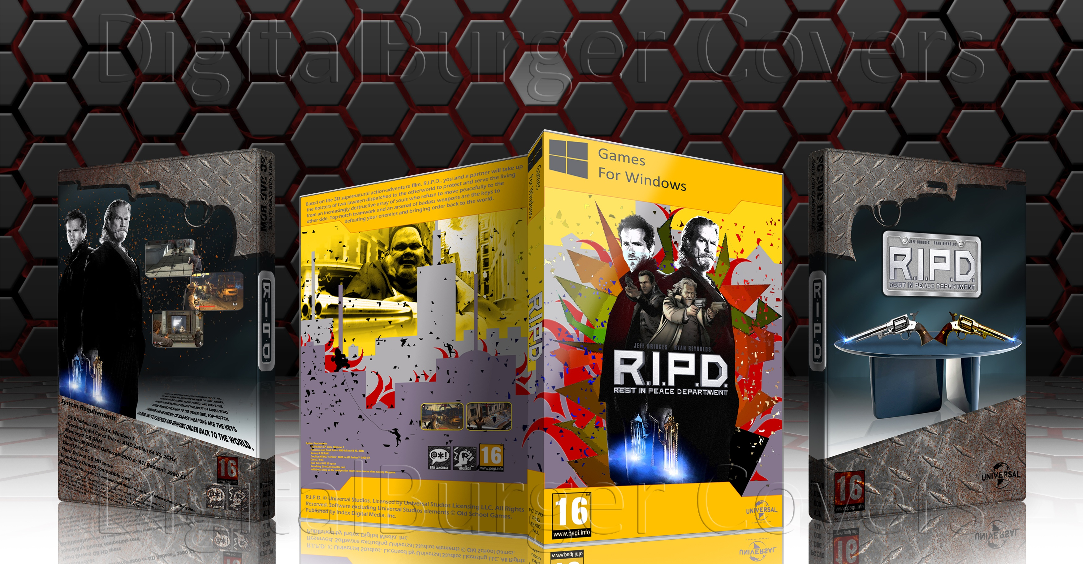 R.I.P.D Rest In Peace Department box cover
