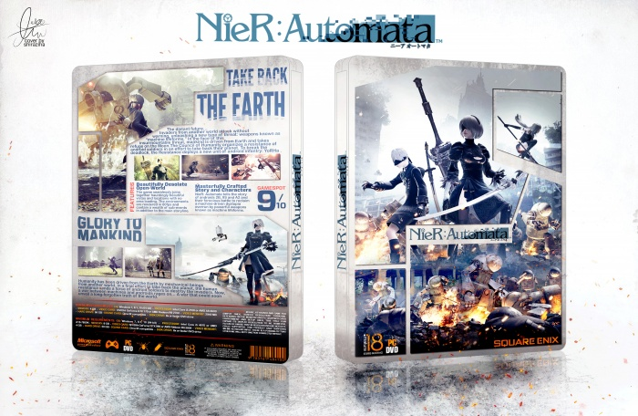 Nier: Automata box art cover