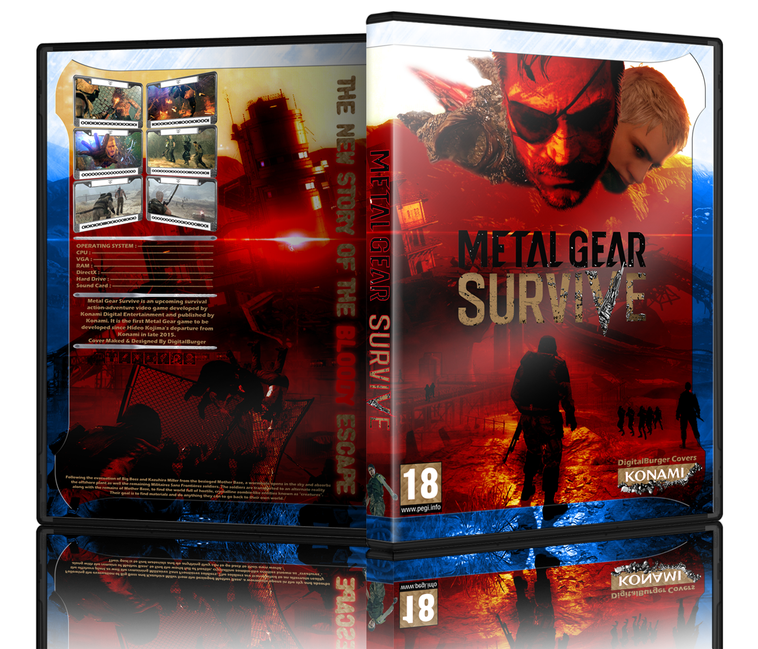 Metal Gear Survive box cover