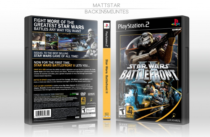 Star Wars: Battlefront II box art cover