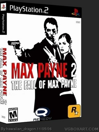 Max Payne 2: The Fall Of Max Payne box cover