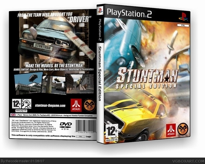 Stuntman Special Edition box art cover