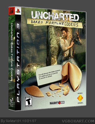 Uncharted: Bakes Fortune Cookies box cover