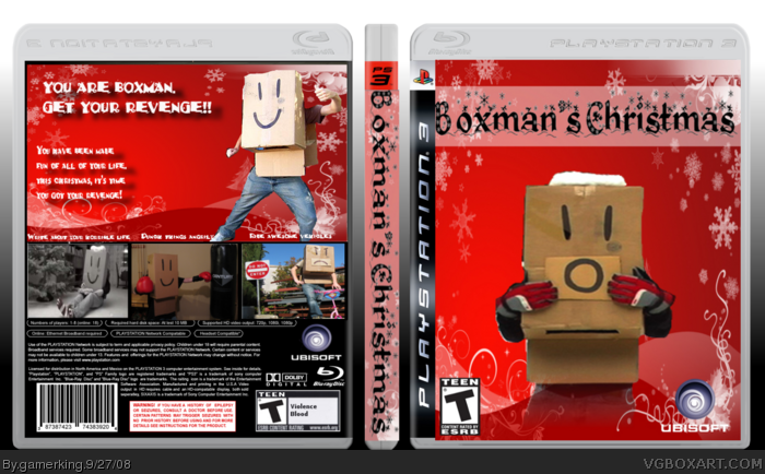 Boxman's Christmas box art cover