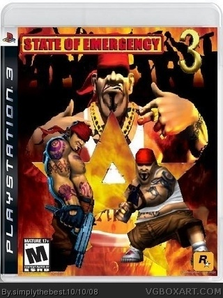state of emergency 3 box cover