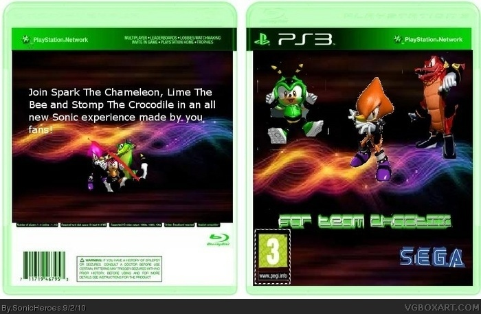 Fan Team Chaotix box art cover