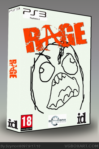 Rage box art cover