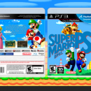 Super Mario Bros. PS3 Box Art Cover