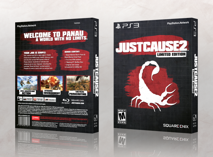 Just Cause 2: Limited Edition box art cover