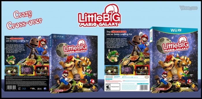 Little Big Mario Galaxy box art cover