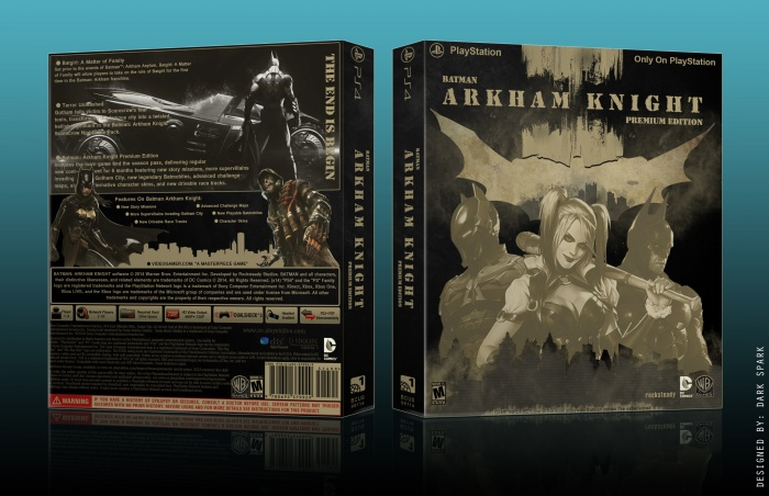 Batman: Arkham Knight Premium Edition box art cover