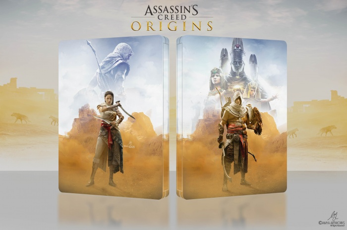 Assassin's Creed Origins box art cover
