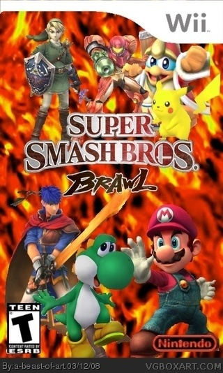 Super Smash Bros. Brawl box cover