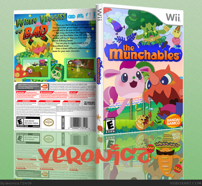 The Munchables box art cover