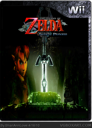 The Legend of Zelda Twilight Princess box cover